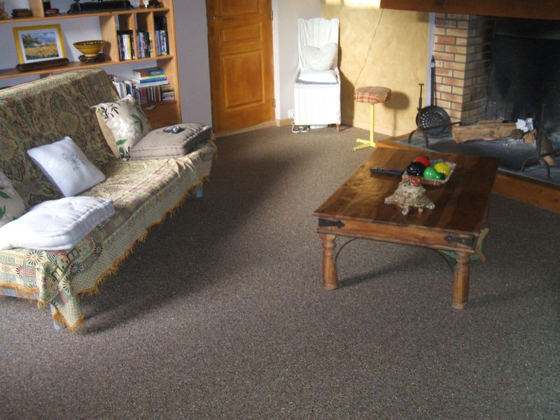 R sine de sol salon autres chantiers sols pose chape for Sol en resine interieur