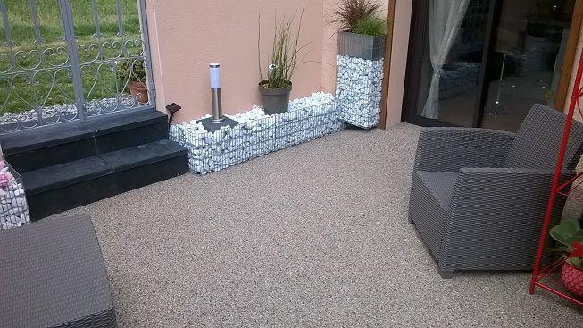 Sols terrasse ext rieure r sine mirande 32 sols for Chape terrasse exterieure